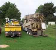 Geothermal Loop Field Installation